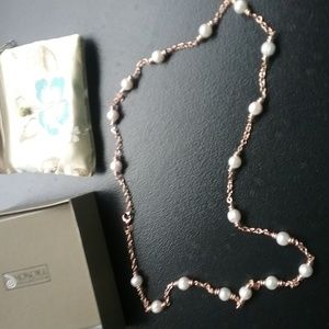 """Cultured Pearl 9.0mm Bronze 36"""" Necklace"""